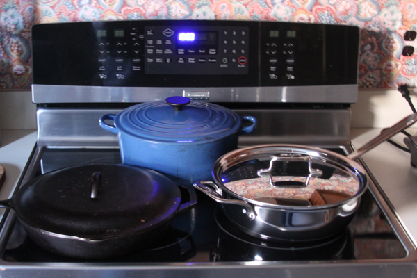 Pans for an Induction Stovetop